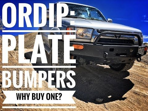 ORDIP VIDS: Reasons To Consider An HD Plate Bumper For Your 4x4 - YouTube