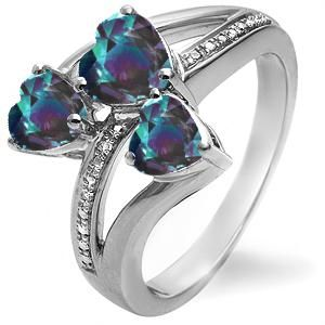 Alexandrite ring. This is gorgeous  it's my birthstone. Maybe one day when I hit the lottery I'll buy one, until then I'll keep on wishing :)