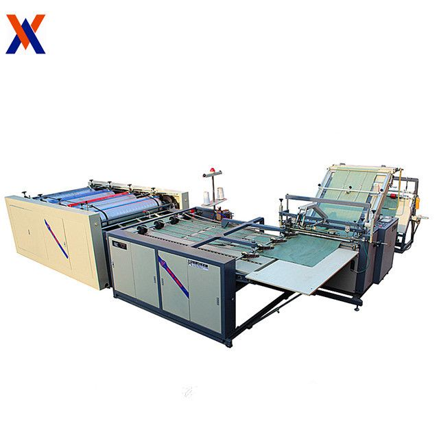 Intergrated sewing cutting and printing for portable bag sewing machine