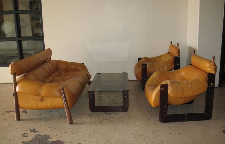 Percival Lafer Brazil Mid Century Sofa Chairs Tables