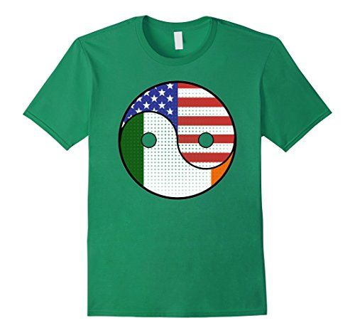 St. Patrick's Day 2017 T-Shirt Gifts Yin Yang Irish American T-Shirt