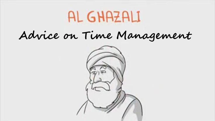 Imam Al Ghazali Advice on Time Management - #SpiritualPsychologist
