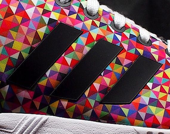 adidas ZX Flux Print Pack On Feet