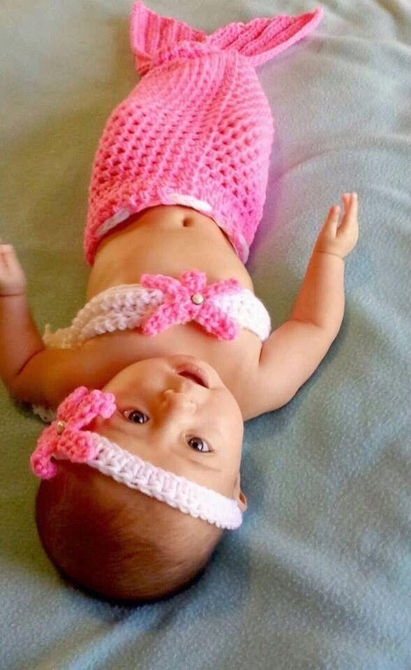 Cute Little Mermaid Baby Picture Love It Love Babies