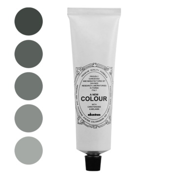 A New Colour Ash.    Ammonia free colour cream enriched with carotenoids and melanin for a strong anti-oxidant action that is able to cover perfectly white hair, to lighten up to three levels to darken and to change the reflex.