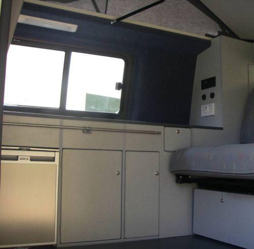 Camper van kitchen furniture flatpack interior units for for Camper van kitchen units