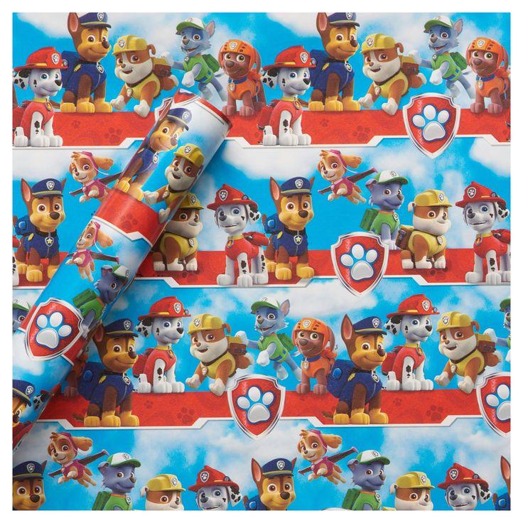 paw patrol gift wrap birthday  paw patrol gifts paw