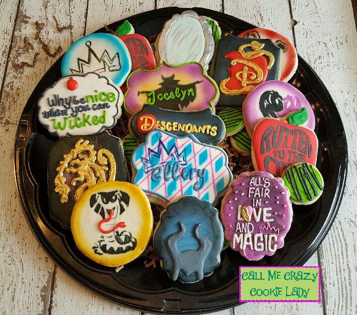 Descendants Call Me Crazy Cookie Lady Pinterest