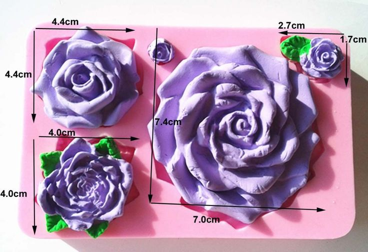 Aliexpress.com : Buy 100% Food Grade 9319  Different size of Rose Silicone Fondant  Mold Sugar Mold Chocolate Mold Cupcake Mold Cake Decoration Tool from Reliable tool plastic suppliers on Dearfod HomeDIY Store