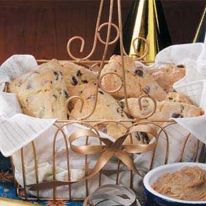 Hazelnut Chip Scones | Recipe