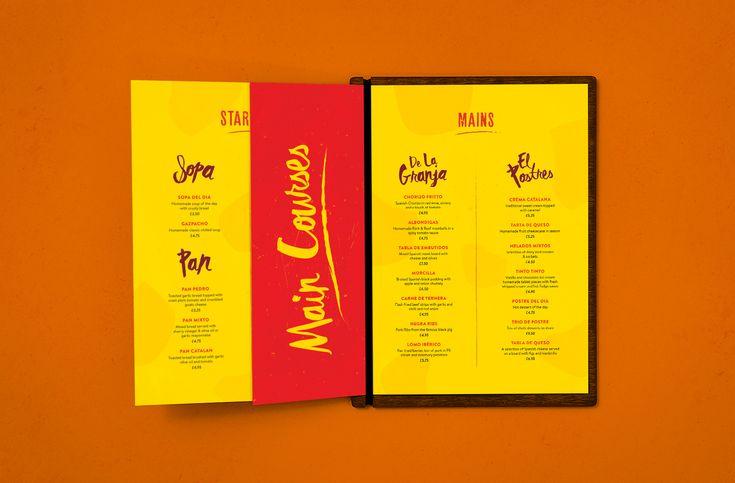 Tapas Restaurant Branding. Ole Gourmet. spanish. Menu Design.. Hand written, print design. by Ashwin Kandan