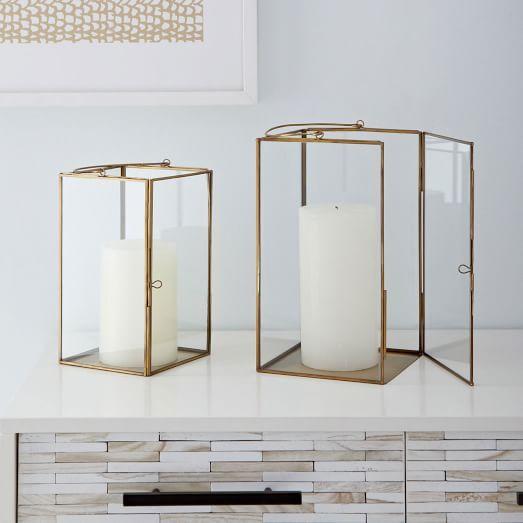 Brass Lanterns | West Elm