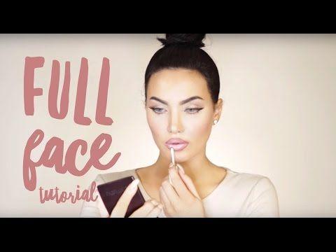 FALL MAKEUP TUTORIAL | Natalie Halcro - YouTube