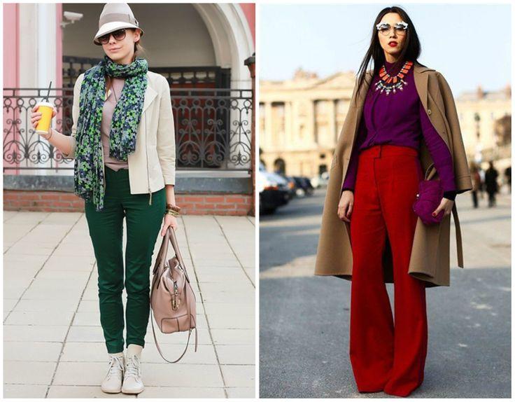 Fresh Look :: Littleone.ru - сайт питерских родителей - С чем носить яркие брюки?