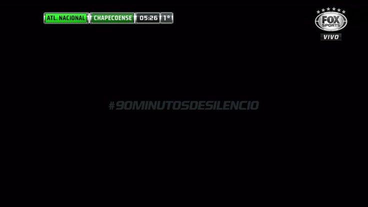 Em homenagem ao Chapecoense, Fox Sports Brasil transmite 90 minutos de silêncio