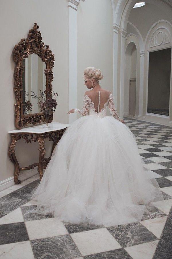 house of mooshki long sleeve ball gown wedding dresses