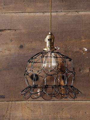 light: Pendants Lamps, Wire Farms, Lights Fixtures, Eggs Baskets, Farms Baskets, Eggs Crates, Eggs Cages, Baskets Lights, Cages Lights