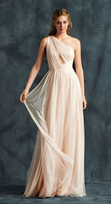 40+ One Shoulder Marriage ceremony Costume Concepts