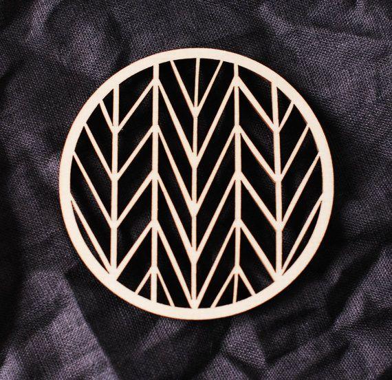 Montaña rusa de madera geométrica moderna montaña rusa estilo / abstracta a coaster