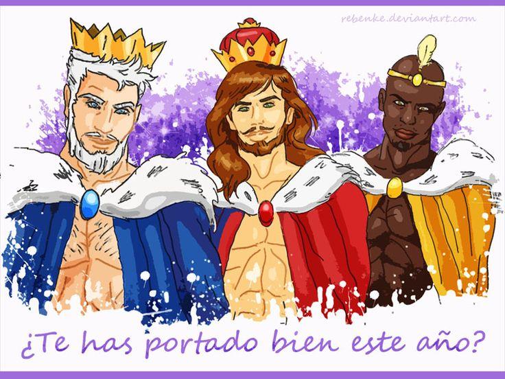 Los Reyes Magos de Oriente by rebenke