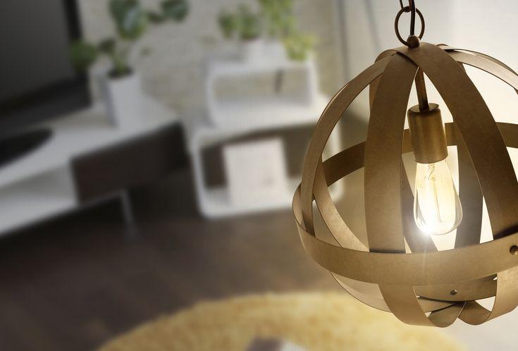 La lámpara colgante Tidori y su estilo renascentista llamará la atención en cualquier espacio de tu hogar.