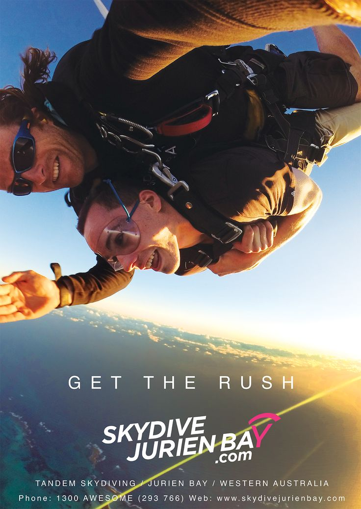 Sky dive Perth. Those who skydive can't explain it, and those who don't will never understand it. You have to try it for yourself! GET THE RUSH