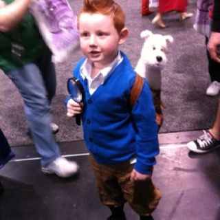 Tintin cosplay. You're doing it right.: Tintin Cosplay, Halloween Idea, Tintin Costume, Halloween Costumes, Tins, Kids, Things, Costume Idea