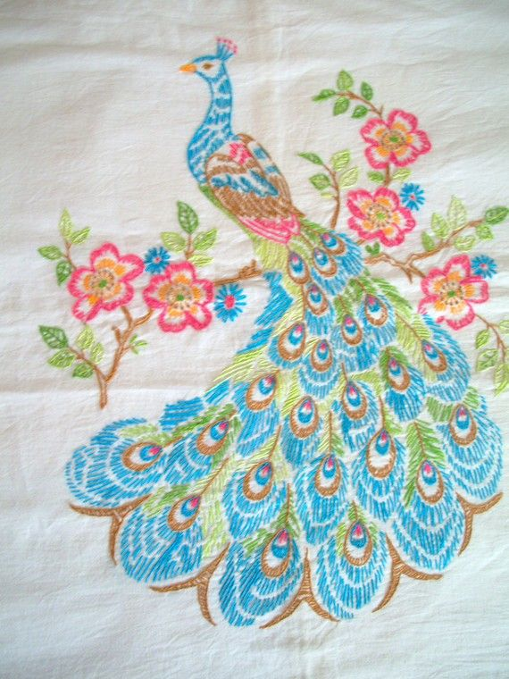 77 Best Images About Peacock Embroidery On Pinterest