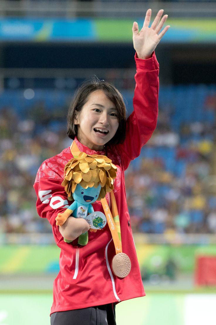 初出場の辻沙絵、有言実行の銅メダル! #辻沙絵 #陸上 #パラリンピック