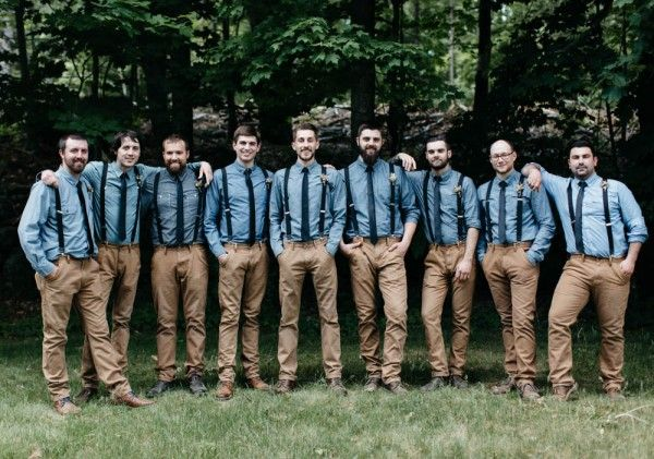 Casual groomsmen style | Jess Jolin Photography