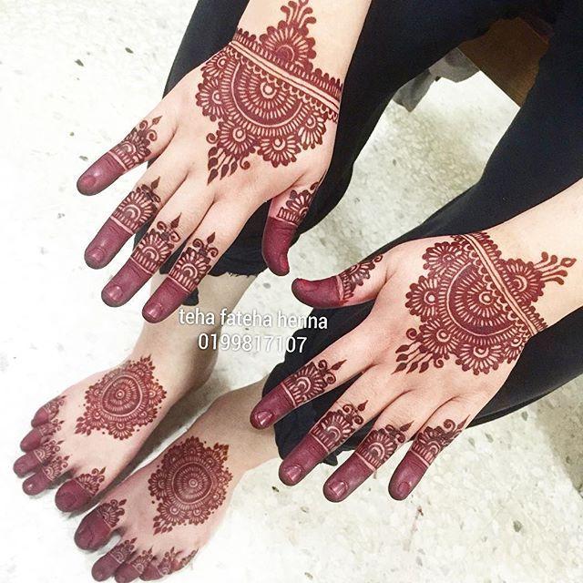Berinai diana di Ampang selamat pengantin baru semoga bahagia sampai syurga #inaicelup #inailukis #inaimerahmenyala #inaiputih #inaikuku #inainikah #inaikawin #inaiartis #inaiukir #inaishahalam #inaimalaysia #hennadesign