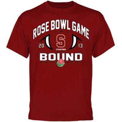 Stanford Cardinal 2013 Rose Bowl Bound T-Shirt - Cardinal http://sportro.se/11