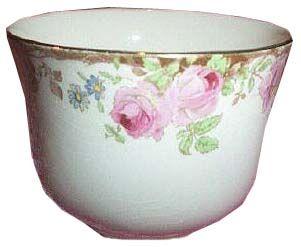 Rarer, taller sugar bowl