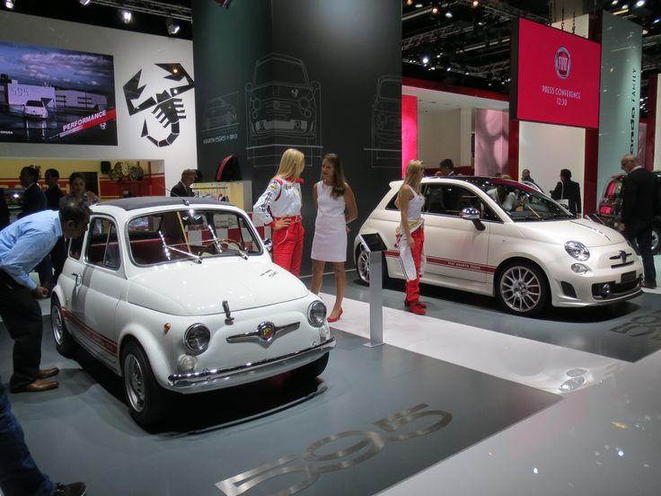 Den gamle Fiat 500 er nu stadig den mest charmerende...