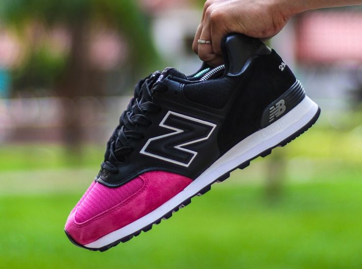 "New Balance 574 ""Pink Devil"" Customs by A. Santos - SneakerNews.com"