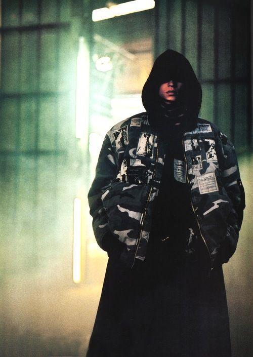"""Raf Simons Camo Bomber Jacket - A/W 2001 """"RIOT RIOT RIOT""""."""