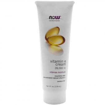 Крем с витамином Е. Now Foods, Solutions, Vitamin E Cream 28,000 IU, 4 fl oz (118 ml) Отличный крем! Крем сам по себе густой и жирненький. Подходит и для лица, и для тела, и рук. Для тех, у кого сухая шершавая кожа на теле или лице, и для тех, кто хотел бы уменьшить появление пигментных пятен и рубцов. Увлажняющий Питает кожу Содержит концентрированный натуральный витамин Е Без парабенов Предназначен для пополнения естественной влажности кожи.