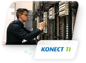 Konect TI.  O melhor serviço de Outsourcing de TI para garantir o alto desempenho do sistema.  A solução Konect TI da Kofre disponibiliza a locação de uma estrutura completa de equipamentos (servidores, roteadores, switch, modens e outros) para transmissão de dados voz e vídeo e um serviço de excelência de Outsourcing de TI, que conta com uma equipe de profissionais certificados em promover a melhoria no desempenho dos serviços de tecnologia de informação e garantir a qualidade dos…