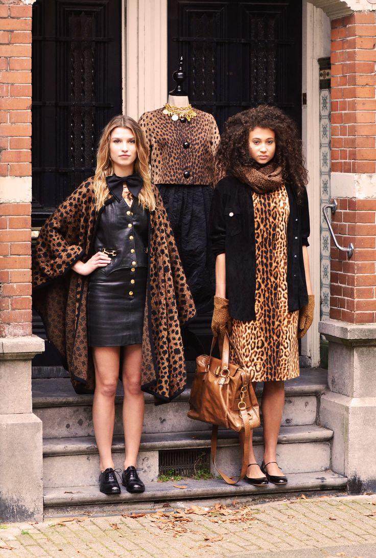 Vintage Leopard Items | ByDanie Designer Vintage Store | Cornelis Schuytstraat 45 | Amsterdam | Styled by Danie Bles