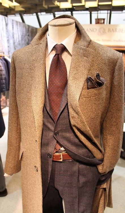 Well tailored tweed, stripes & dots