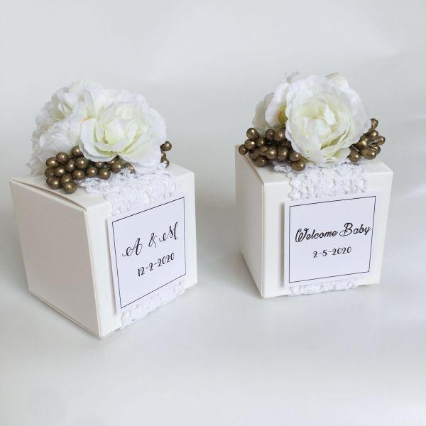 Us 8 00 New White Square Elegant Candy Box Wedding Favors And Gifts Boxes Chocolate Box Bomboniera Gi In 2020 Wedding Gift Favors Chocolate Gift Boxes Chocolate Box