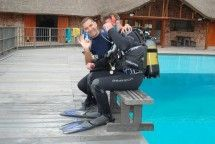 Scuba Diving - The KwaZulu-Natal North Coast is a great place to learn to scuba dive and do an open water or advanced course. The water is warm, and Ballito is conveniently situated just north of Durban and not that far from the coral reefs of Maputaland.  Ballito might not have coral reefs, but it does have coral-encrusted reefs with all the attendant pretty colourful tropical fish.
