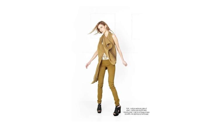MalloniI #top #knit #shoes #slacks