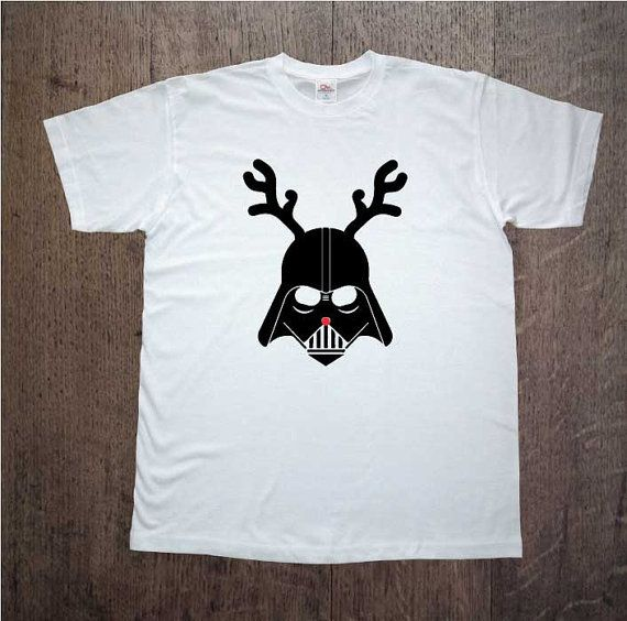 Christmas shirt! Darth Vader! Star Wars. Mens clothing! Christmas gift