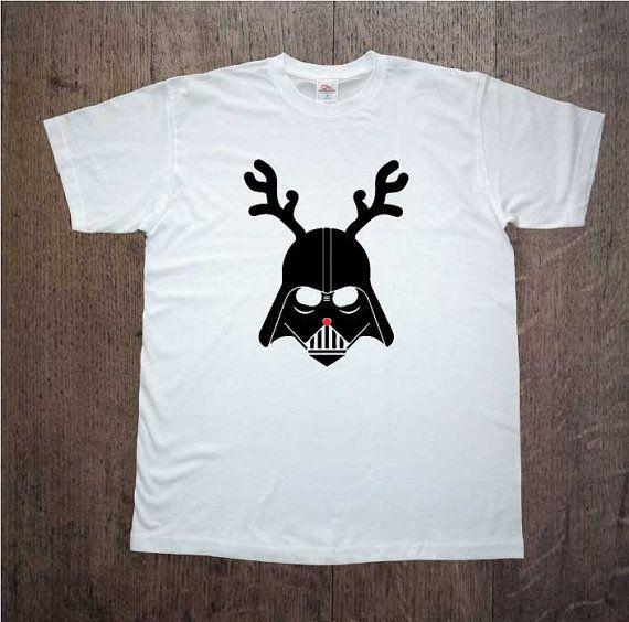 Christmas shirt! Darth Vader! Star Wars. Mens clothing! Christmas gift