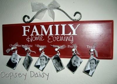 Family photo board--Slacker Mom