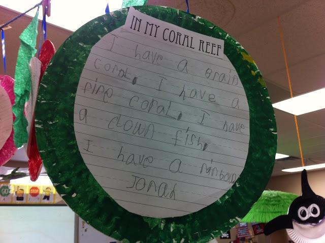 Ocean writing activities for kindergarten