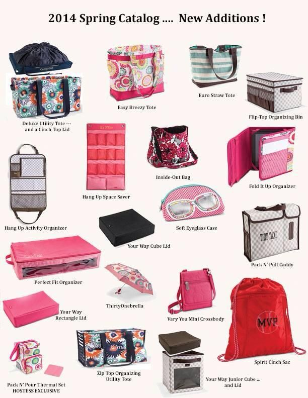 Love all the new styles! www.mythirtyone.com/JeannineW/
