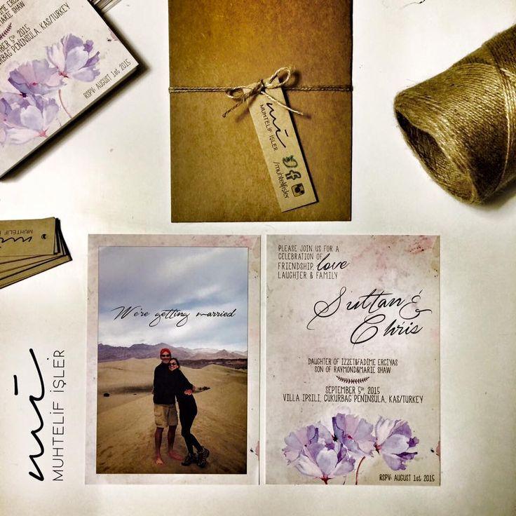 ''İyi geceler canım'' derdin. Gecenin iyiliğinden çok; canın olma düşüncesi yeşerir dururdu içimde... #wedding #card #davetiye #invitation #muhtelifisler #özdemirasaf www.muhtelifisler.net ✔️