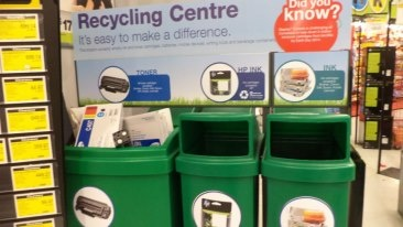 Recycle Ink & cartridges